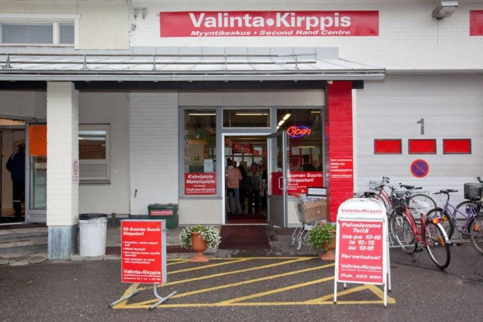Kirpputori Joensuussa - Second hand store in Joensuu